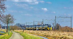 Giethoorn mit Zug