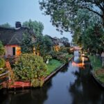 Evening in Giethoorn