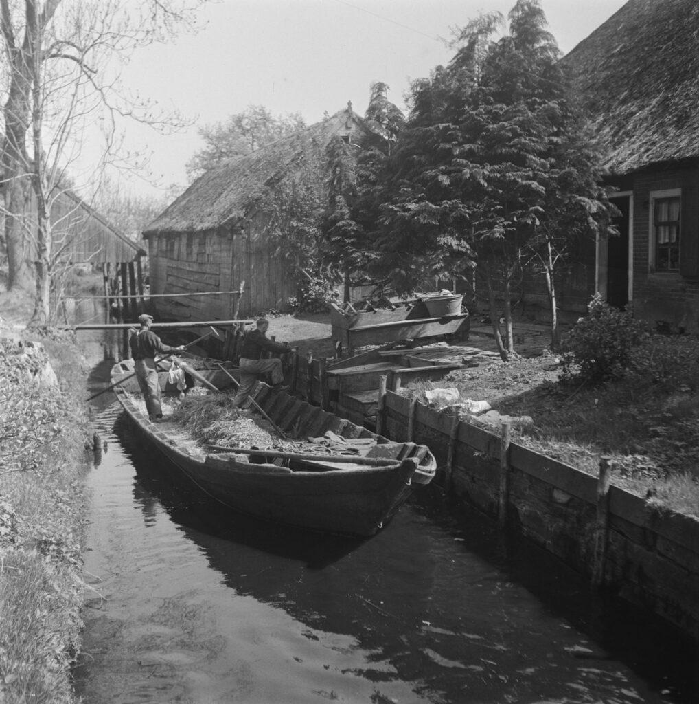 Giethoorn in 1946