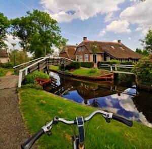 Radfahren in Giethoorn