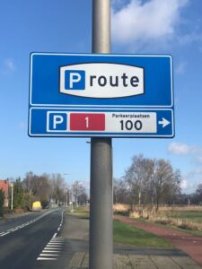 parkeren Giethoorn